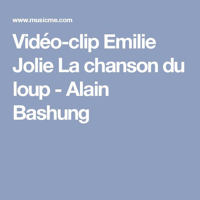 Vidéo-clip Emilie Jolie La chanson du loup - Alain Bashung