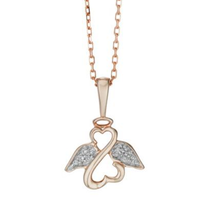 Jane Seymour Open Heart Angel Ring