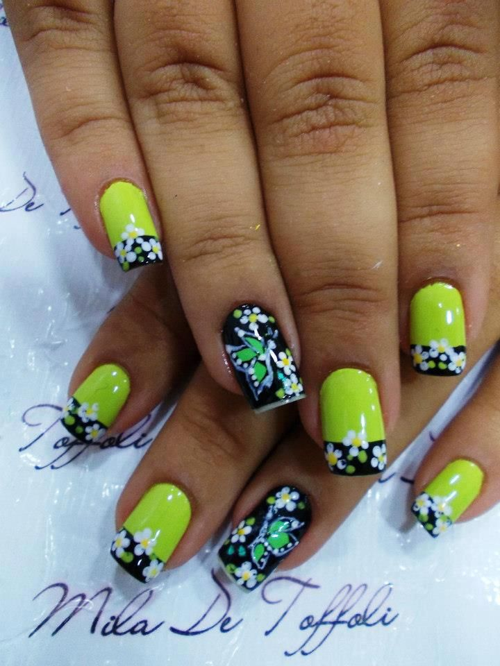 88 best * French Manicure Nail Art Design Ideas images on Pinterest ...