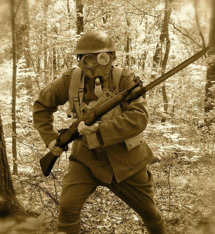 WWI doughboy | World War I | Ww1 soldiers, American ...