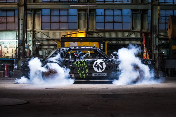 Ken Block's 1965 Ford Mustang, 850 HP all-wheel drive, insane... Check out the…
