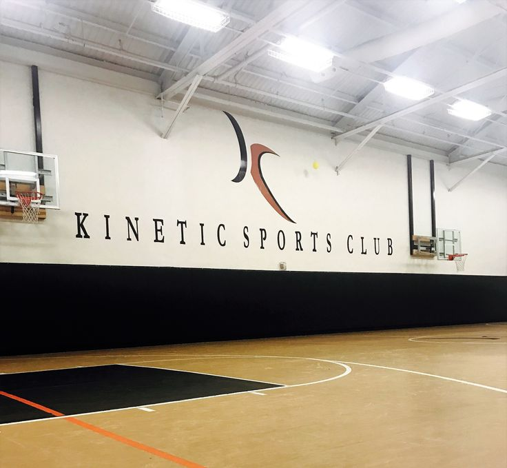 Kinetic's basketball training facility features six state-of-the-art fiberglass hoops and a full-size basketball court.🏀🏀#KineticAmenities