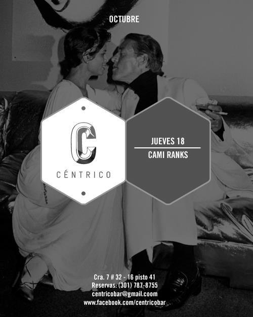 Hoy jueves 18 de octubre #dj_kmmy_ranks noches @centricobar