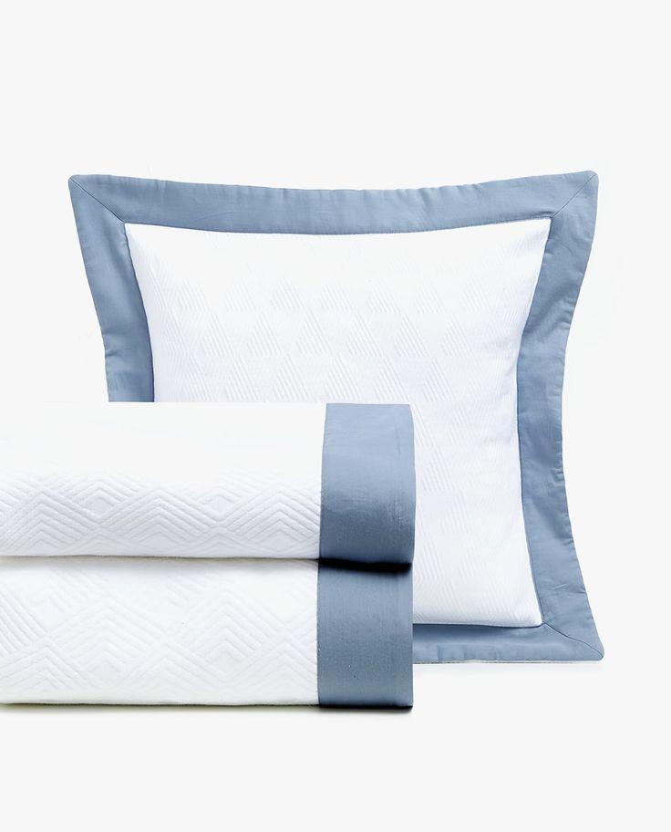 Tagesdecke Aus Baumwolle Mit Farblich Abgesetztem Saum Bed