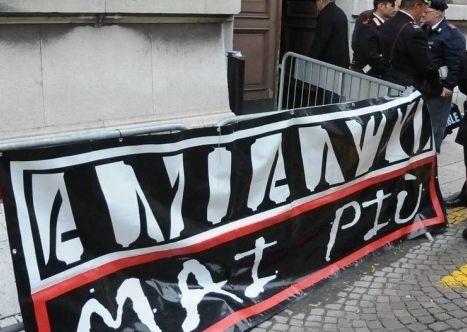 Associazione 'Amianto mai più'.