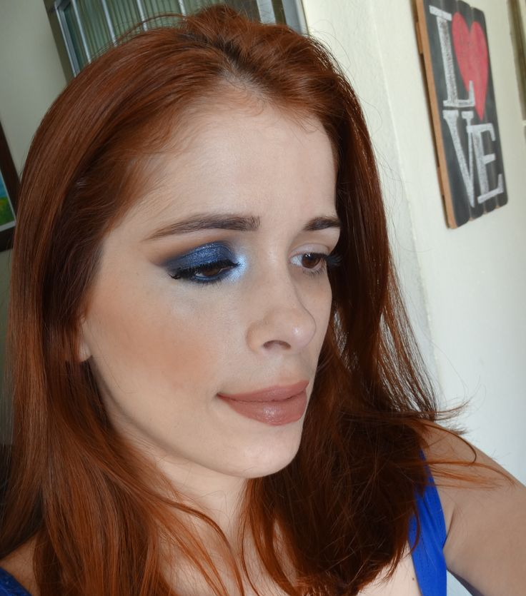 Maquiagem azul marinho com a paleta ❤ Pretty Rebel - Too Faced ❤