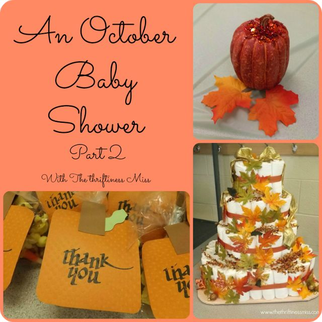 25+ Best Ideas About October Baby Showers On Pinterest
