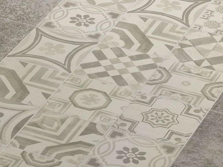 Pavimento in gres porcellanato CEMENTINE COLD Collezione Cementine by CERAMICHE KEOPE