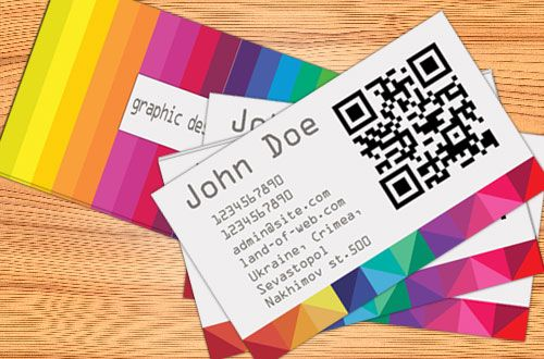 Freebie: Colorful Business Card