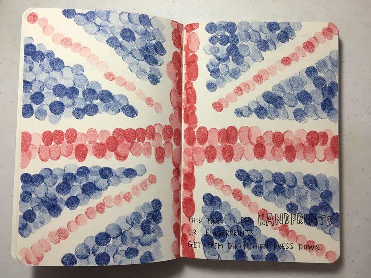 Wreck This Journal - Doctor Who - Handprints/Fingerprints