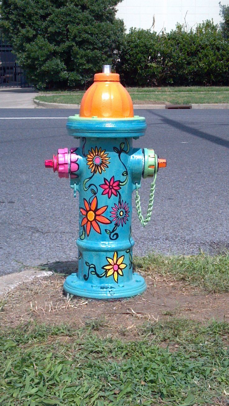 Paint the Plug Project in Paducah's Lowertown (where my in-laws live).  I seriously wish we could get our local fire hydrants painted. :)