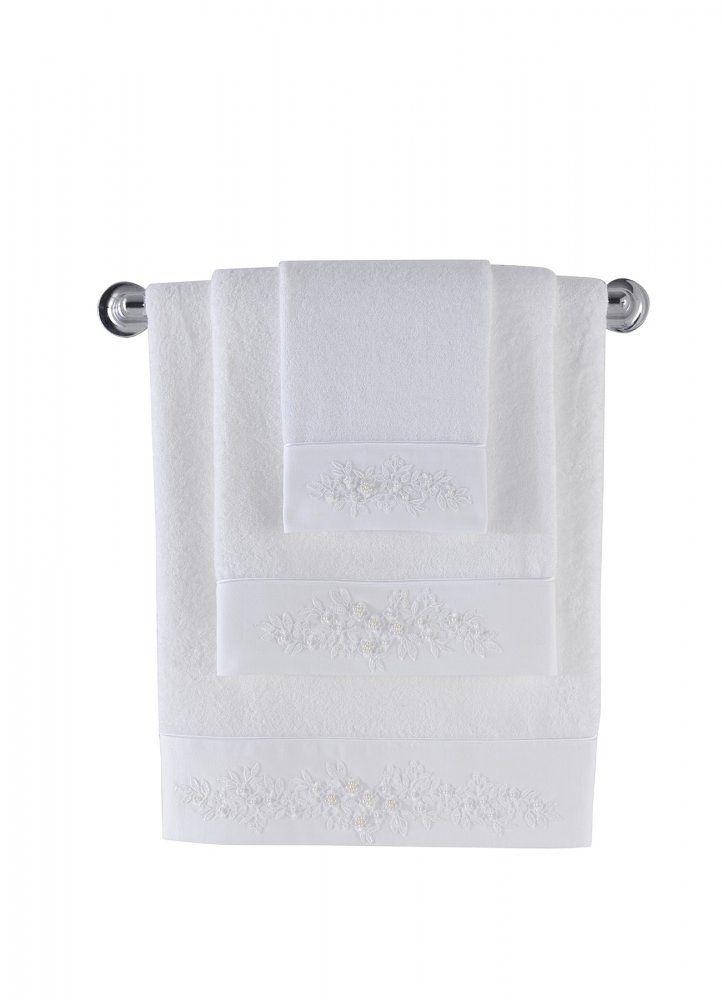 Biale bambusowe ręczniki z kolekcji MASAL mogą być wyjątkowym prezentem dla Twojej łazienki lub osób, które kochasz.