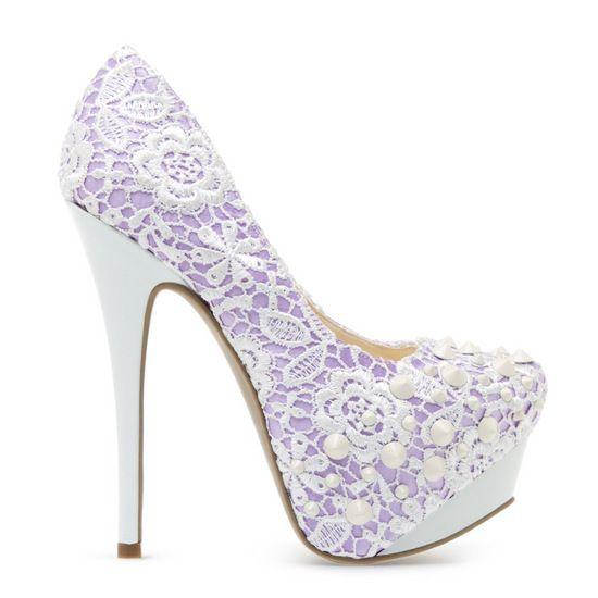 Lottie shoe from Shoe Dazzle.  if only they weren't lavendar...