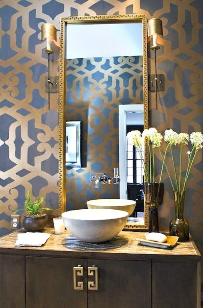 The Most Beautiful Powder Rooms Ever