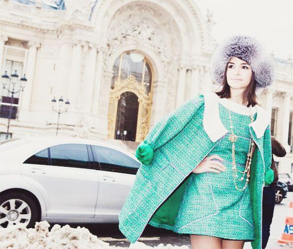{fashion inspiration   style icon : miroslava duma} by {this is glamorous}, via Flickr