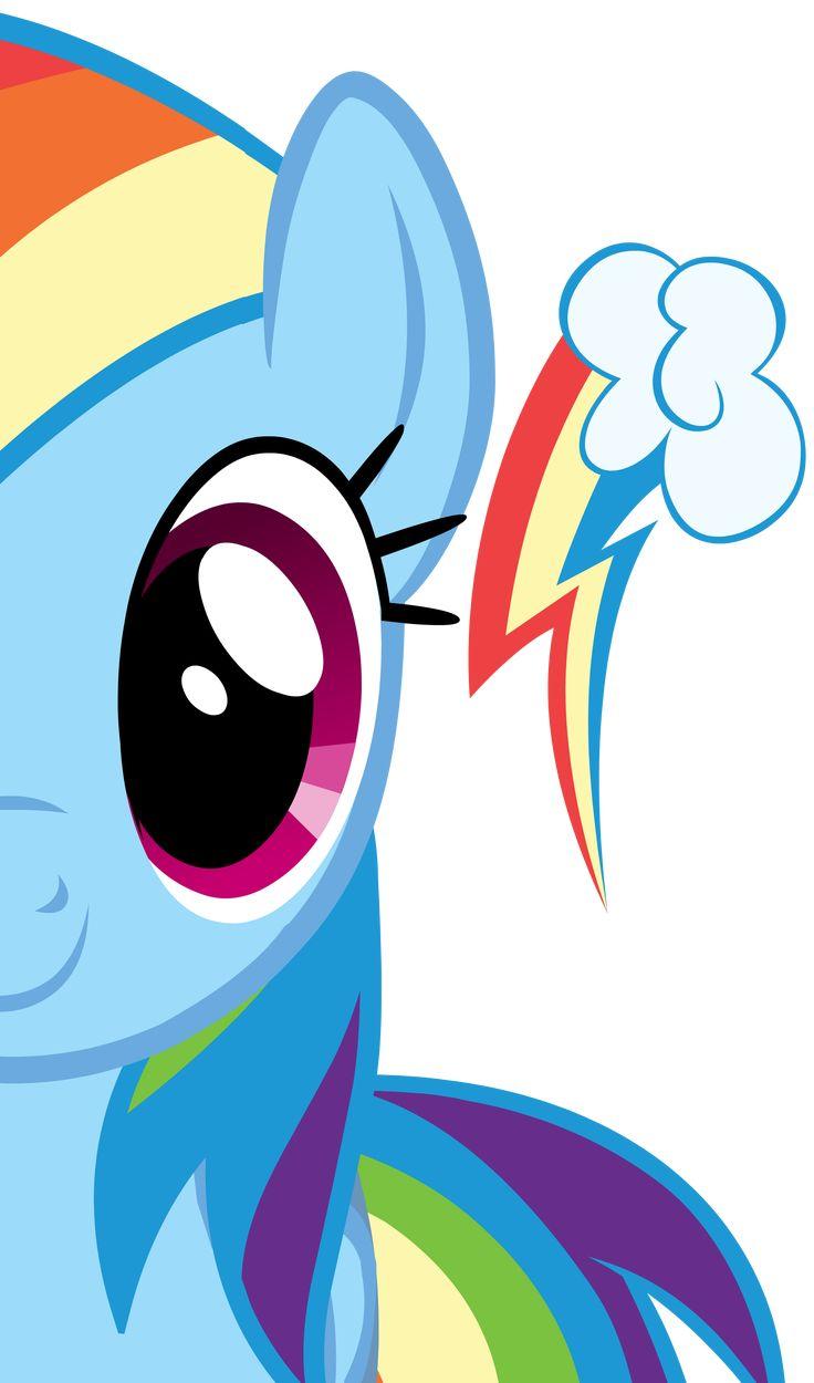 My Little Pony - Rainbow Dash - for Mollie's cake