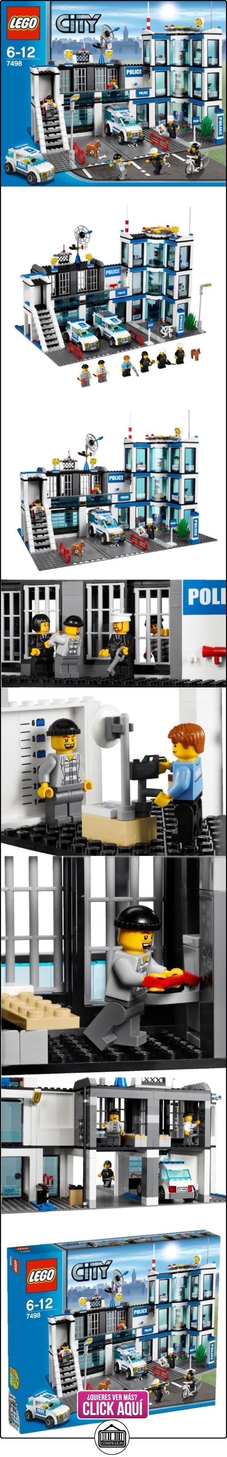 LEGO City - Comisaría de policía (7498)  ✿ Lego - el surtido más amplio ✿ ▬► Ver oferta: https://comprar.io/goto/B0042HOU1M