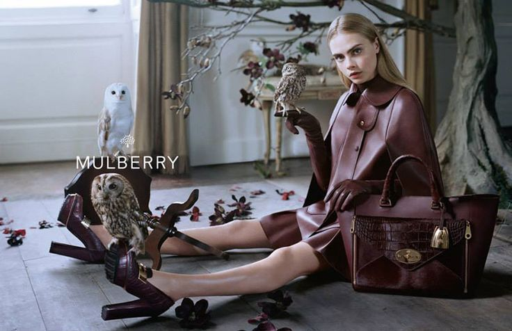 Cara Delevingne the face of Mullberry A/W 2013