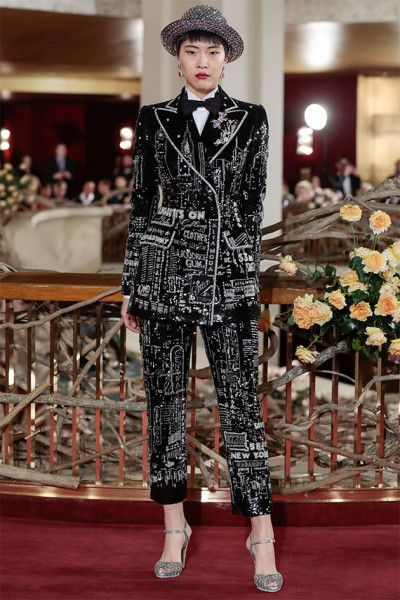 A Alta Moda da Dolce   Gabbana brilha em NY - Lilian Pacce 3d6c8e76040