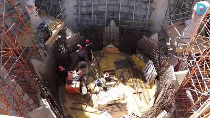 Onze anys per culminar la Sagrada Família