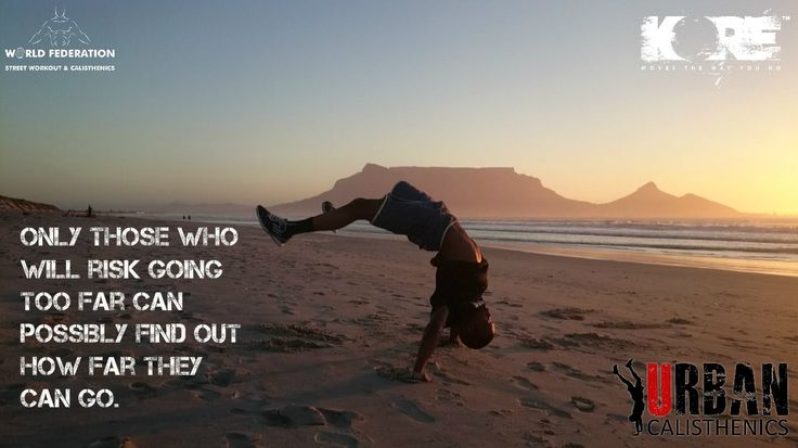 Monday Motivation.  Only you can set your limits.  Tag and share the motivation.  #fitness #outdoors #capetown #urbanmotivation #urbancal #wswcf #kore #handstand #streetworkout #calsithenics