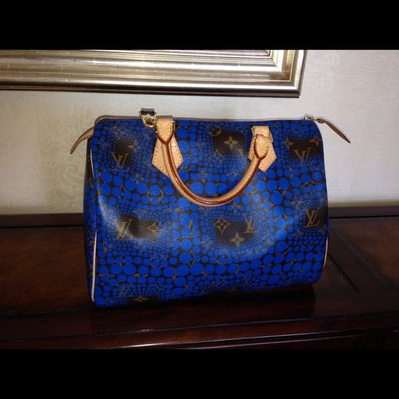 "Spotted while shopping on Poshmark: ""Authentic Louis Vuitton Kusama Limited edition""! #poshmark #fashion #shopping #style #Louis Vuitton #Handbags"