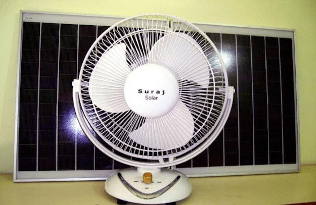 Solar Power Fan   Cool Solar Powered Inventions
