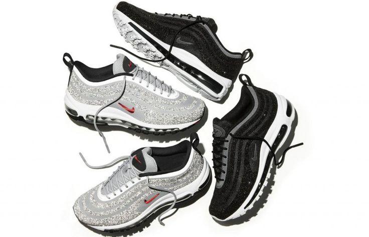 Los nuevos tenis Nike de Swarovski te harán olvidar los diamantes