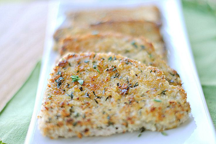 Herb Crusted Pork Chops  Yield: 4 servings  Recipe adapted from Cooking Light  Ingredients      4 boneless pork chops, fat trimmed ...