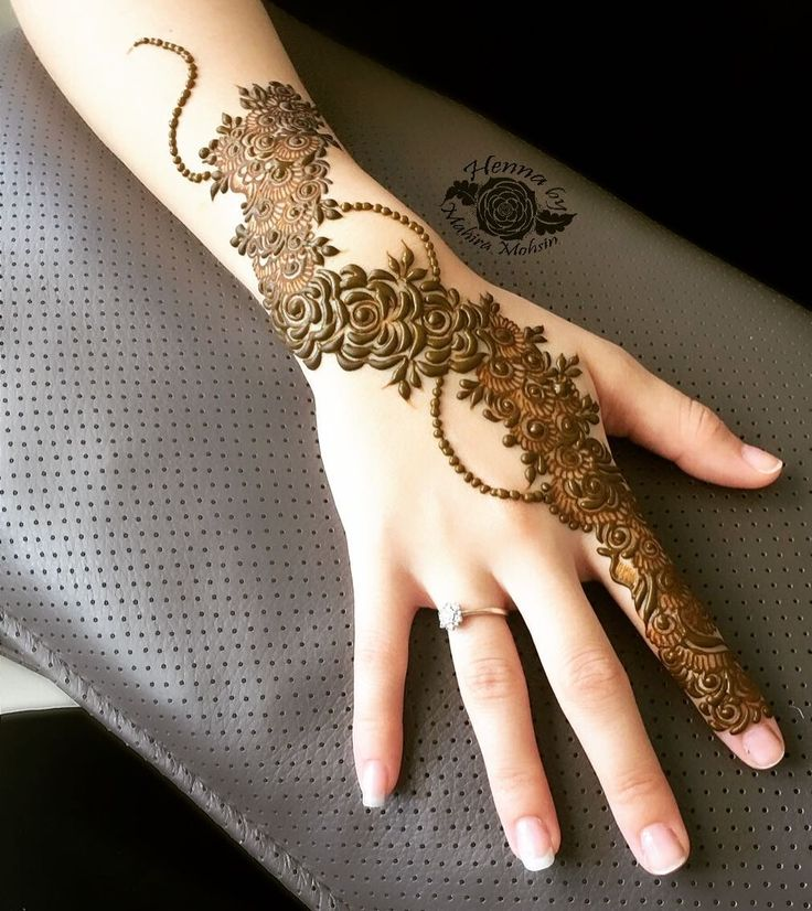 "4,967 Likes, 75 Comments - HennaByMahiraMohsin (@mahiramohsin) on Instagram: ""My success is only by Allah ✨ Qu'ran 11:88  ___________________________________  Henna…"""
