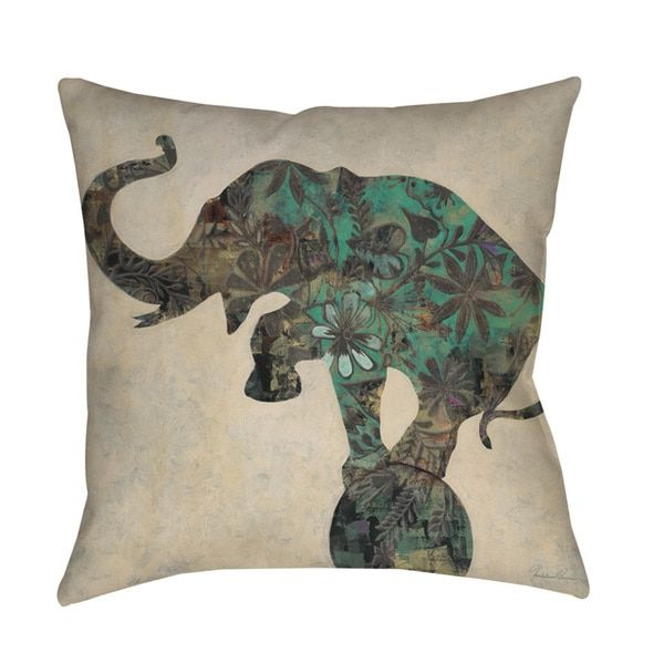 Throw Pillow Elephant : 25+ best ideas about Elephant Throw Pillow on Pinterest Cheap throw pillows, Elephant ...