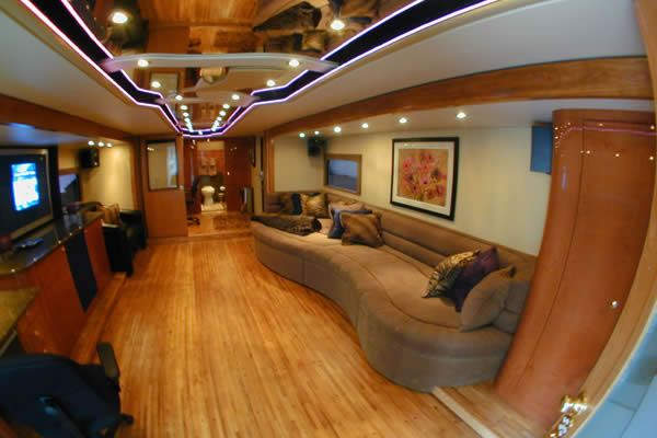 Elegant Hailing From Japan This Two Story Motor Home Was Converted A