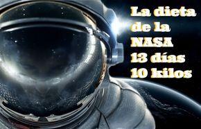 Pieder hasta 10 kilos en 13 días con la nueva dieta de la NASA.