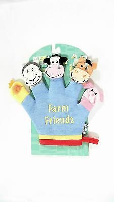 NWT Animal Planet Terry-Cloth Baby Bath Glove Hand Finger Puppet Washcloth CHOP.. USD 0.99