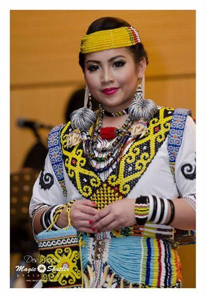 Dayak Saban Long Ears @Borneo Hornbill Festival 2014