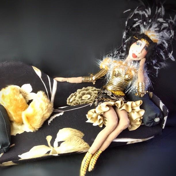"""My character art doll """"Madame Burlesque"""" - @bajidoo- #webstagram"""