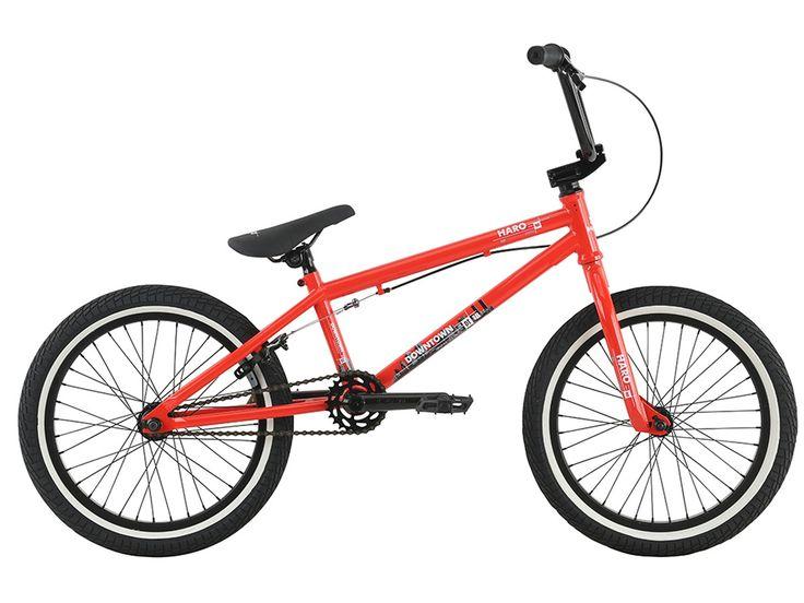 "Haro Bikes ""Downtown 18"" 2017 BMX Bike - 18 Inch | Gloss Red | kunstform BMX Shop & Mailorder - worldwide shipping"