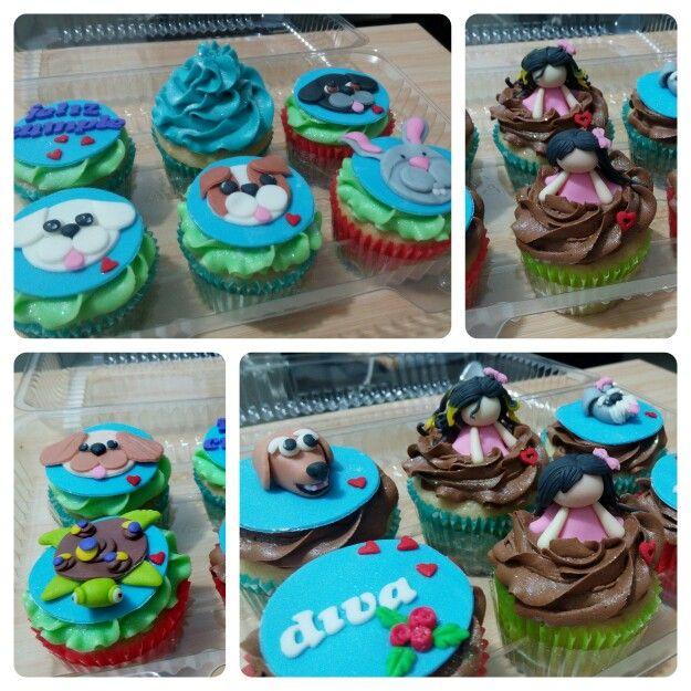 Una deliciosa forma de celebrar tu cumpleaños, el de tu hermana y celebrar tu amor por tus mascotas!  Haz tus pedidos al ☎3007813360 www.facebook.com/CDLimon  #cupcakes #cumpleaños #hbd  #grandma #reposteria #color #medellin #fondant #oreo #chocolate #cake #cakes #happy #happybirthday #cupcakesdulcelimon #pet  #petlover #dogs #cats #conejos #tortuga #amor  #amo