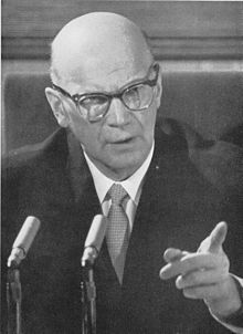 February 15, 1962 Urho Kekkonen is re-elected president of Finland.