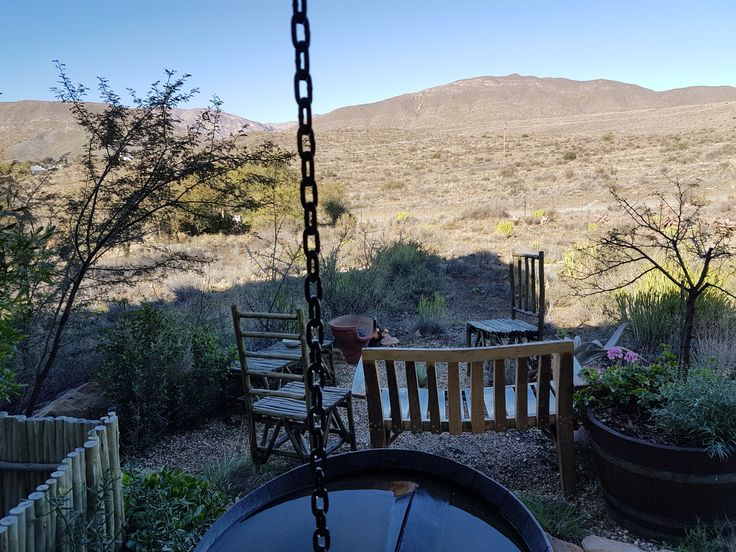 Peace and tranquility at Karoo View Cottages.  Prince Albert Cottatges.