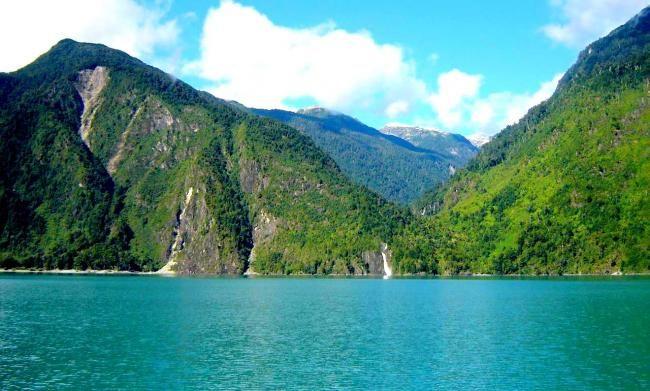 chile lagos. Lago Tagua
