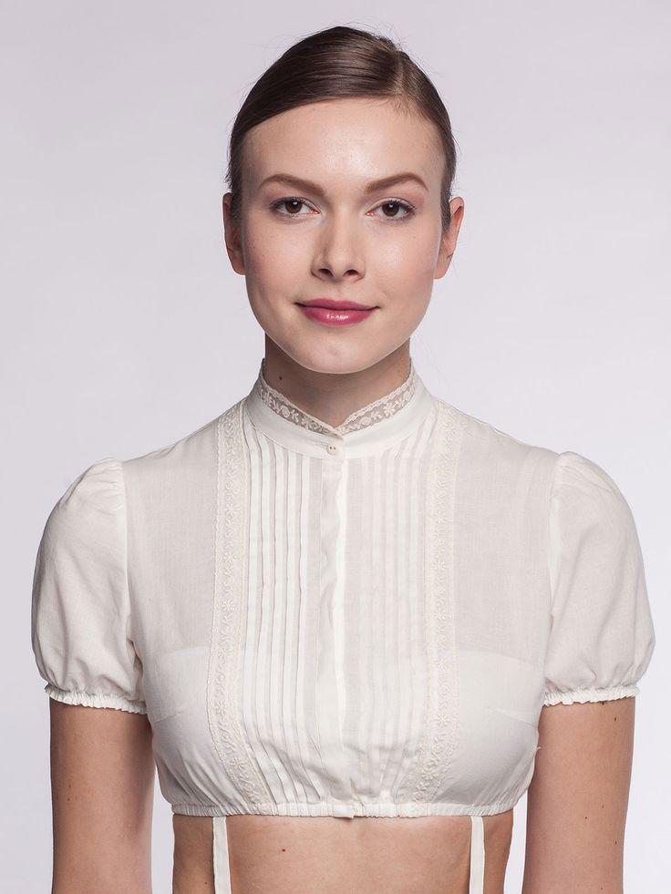 Dirndlbluse Angelika Ecru Gottseidank