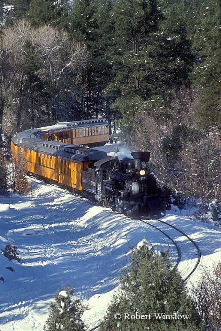 Winter Train, Durango and Silverton Narrow Gauge Railroad, Durango, Colorado - Dana Dodge - Google+