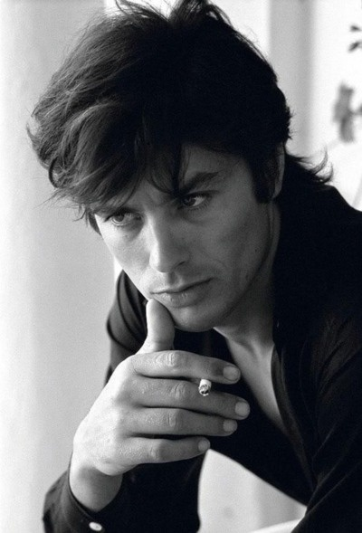 Alain Delon - One of the sexiest French actors ever!