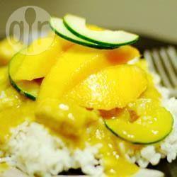 Kipcurry met mango @ allrecipes.nl