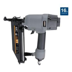 NuMax Pneumatic 2-1/2 in. x 16-Gauge Strip Straight Finish Nailer-SFN64 at The Home Depot