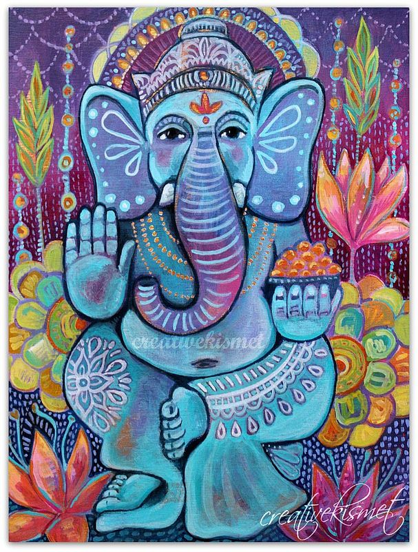 Ganesha - art by Regina Lord