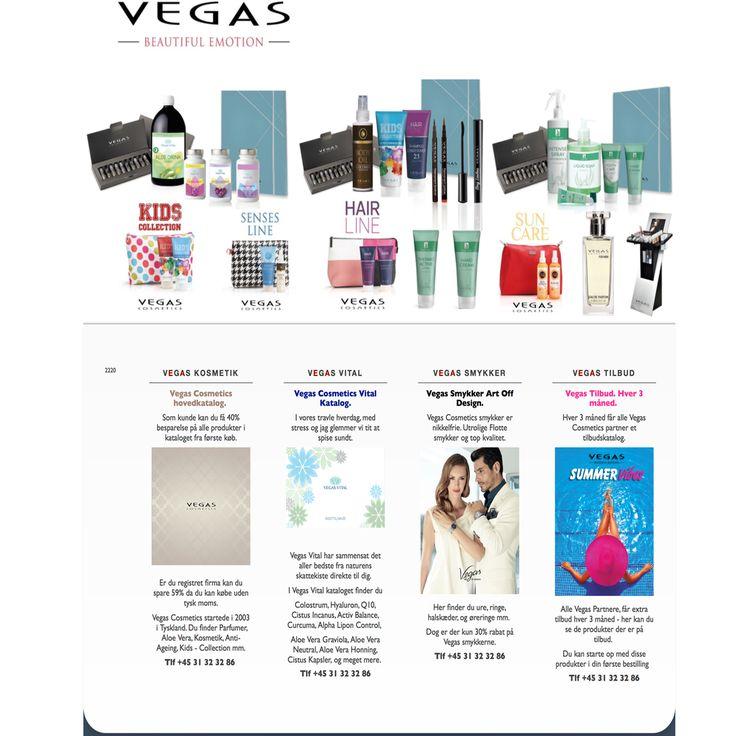 Velkommen til Vegas Cosmetics V/ Teis Lui Nielsen