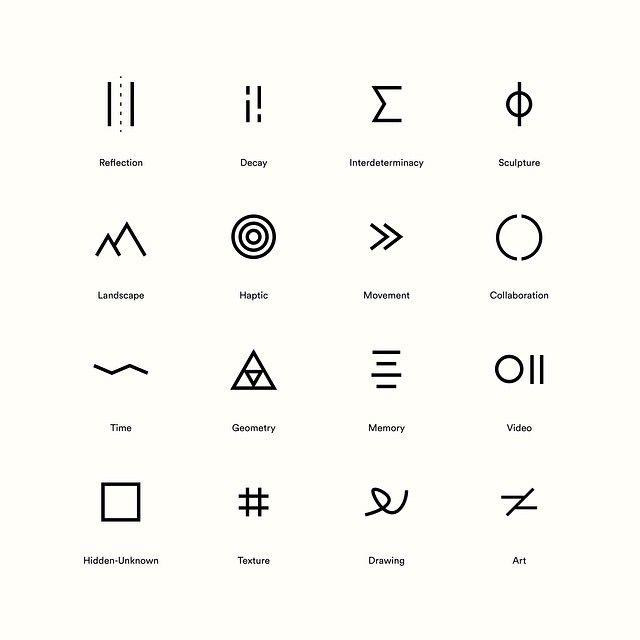 Custom Icon Set For Artist And Architect Phillip Hall