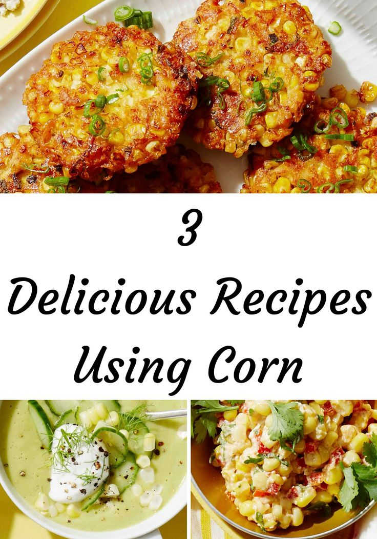 3 Recipes You Must Try If You Love Corn. Corn season is short but so very sweet. Nikki Dinki, cohost of Cooking Channel's Junk Food Flip and author of Meat on the Side, has a bounty of ways to celebrate the golden harvest. Try these recipes for corn cakes, soup and dip.
